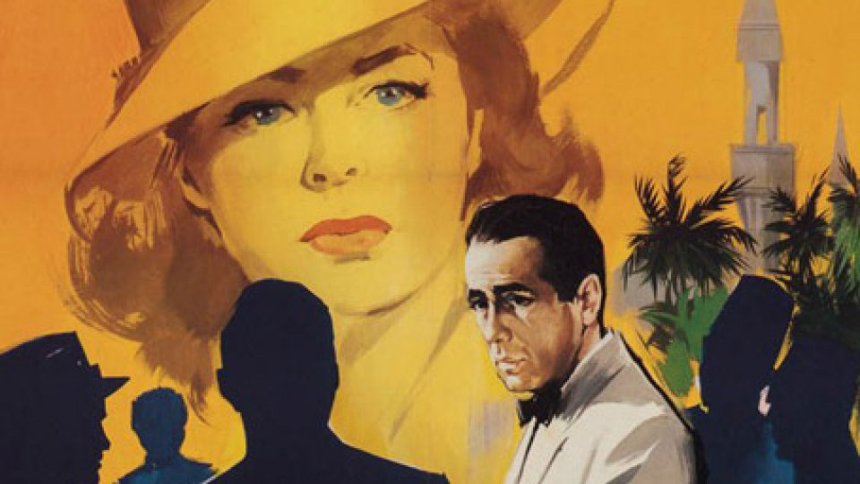 Dettaglio dal poster italiano di Casablanca