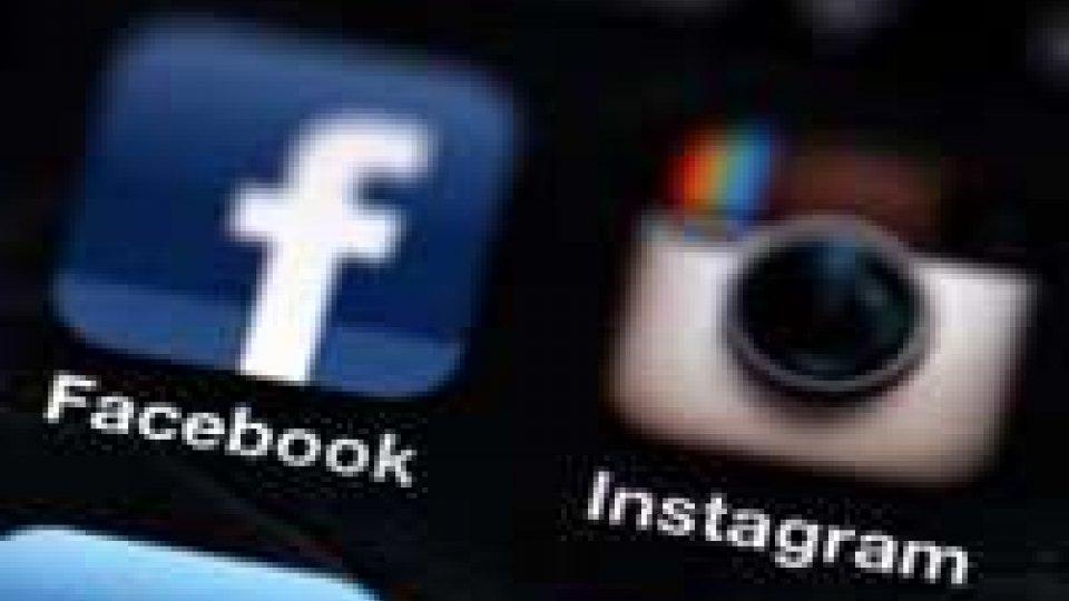 Facebook e Instagram irrangiungibili per un'ora