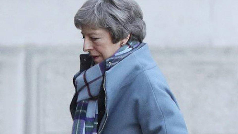 Theresa May. Foto ansa