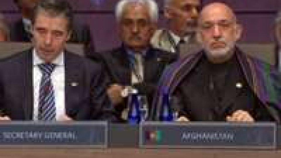 Nato-Afghanistan, transizione fino a metà 2013