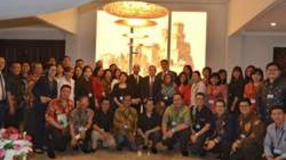 Segretario Michelotti in Indonesia, conferenza istituzionale con gli operatori turistici
