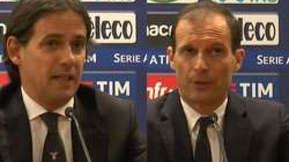 Inzaghi - AllegriLazio-Juventus 0-1, le interviste