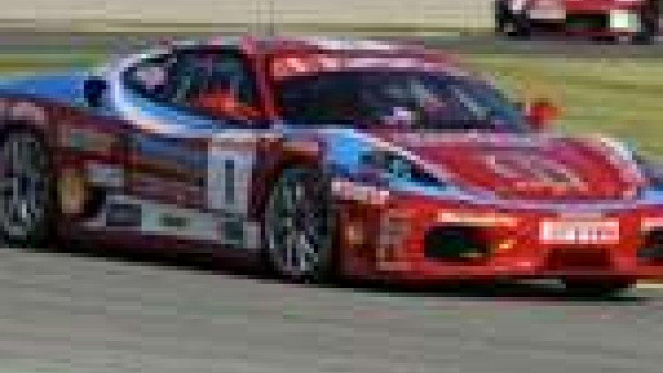 Ferrari Challenge, a Valencia bene i sammarinesi