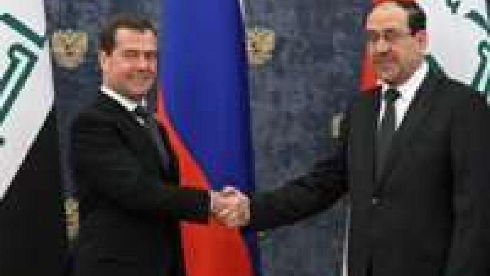 Russia - Iraq, conclusi contratti militari
