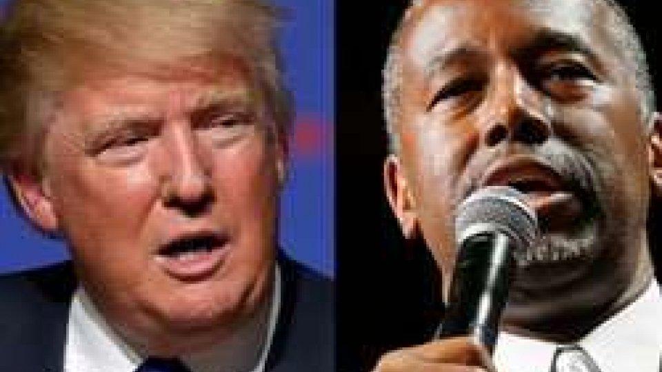 Usa 2016: Carson scavalca Trump; oggi nuovo dibattito tv