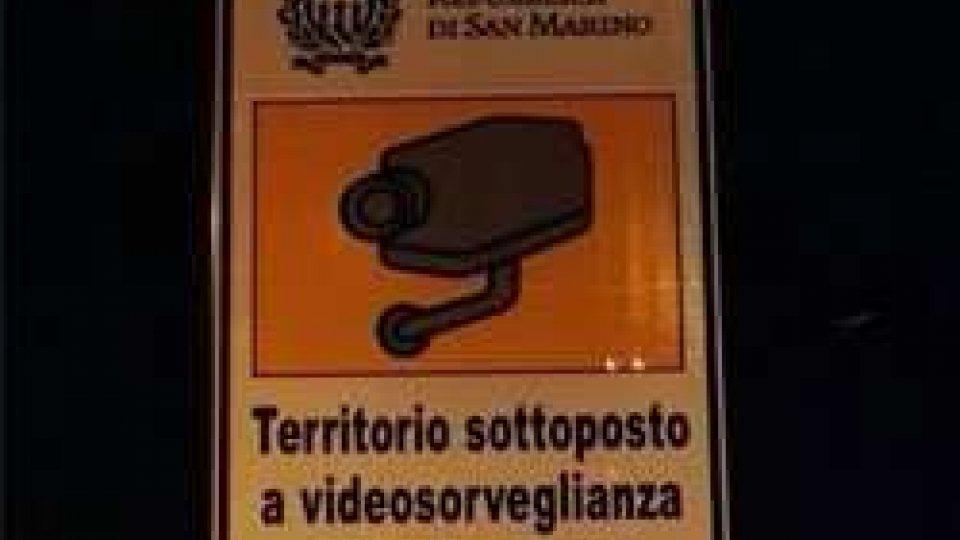 la Repubblica si dota delle telecamere al confine, ecco i primi cartelli