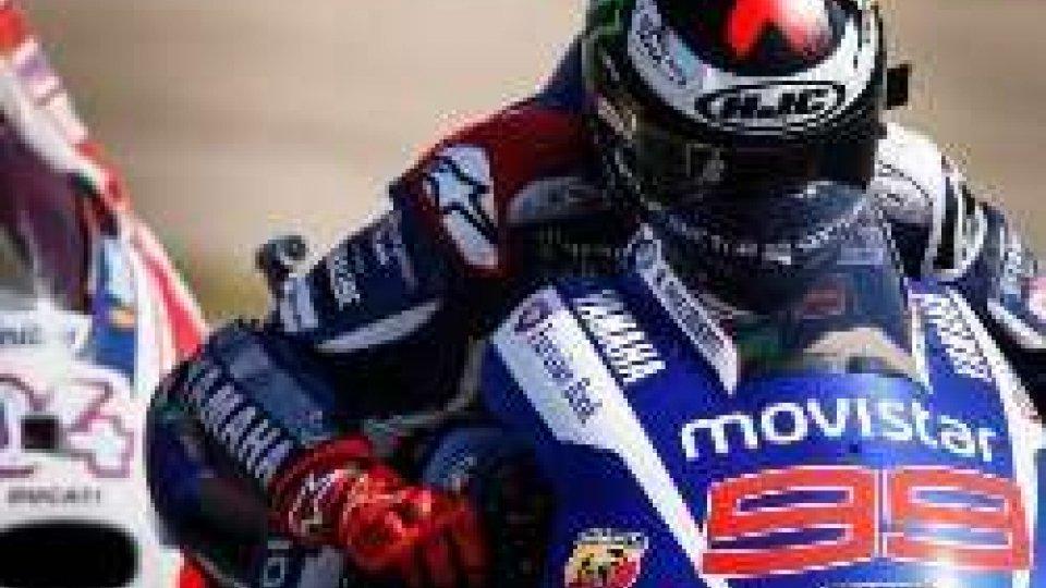 MotoGP: nonostante la spalla malconcia Lorenzo è il più veloce