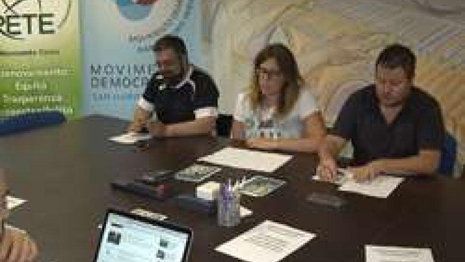 """Conferenza stampa Dim""""La maggioranza scricchiola"""" secondo Democrazia in Movimento"""