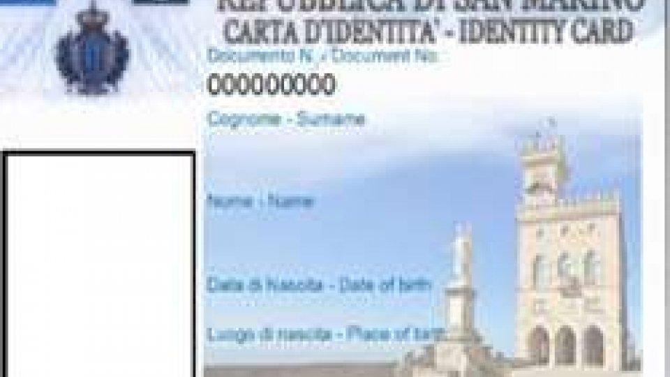 Carta identità: da domani il nuovo documento all'anagrafe sammarinese