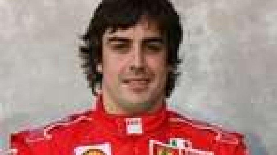 Alonso in Ferrari - fotomontaggio