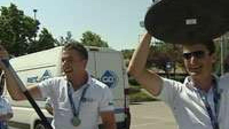 Pesca. Rientro trionfale a San Marino per la nazionale under 23 dopo il bronzo ai mondialiPesca. Rientro trionfale a San Marino per la nazionale under 23 dopo il bronzo ai mondiali