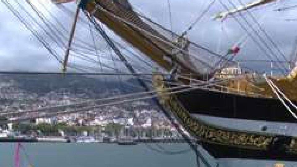 Amerigo VespucciIl viaggio di Nave Vespucci per la campagna d'istruzione