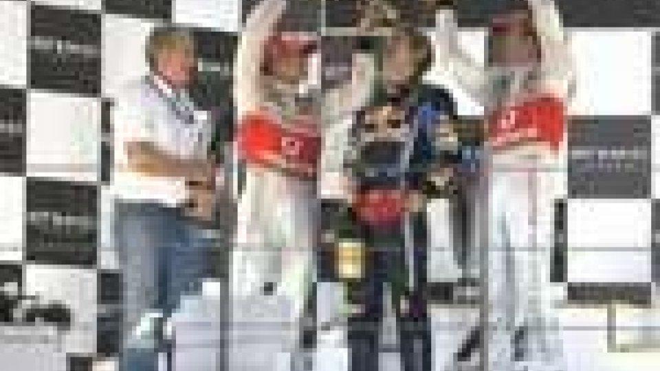 Diecimila tifosi hanno salutato il neo campione del mondo Sebastian VettelDiecimila tifosi hanno salutato il neo campione del mondo Sebastian Vettel