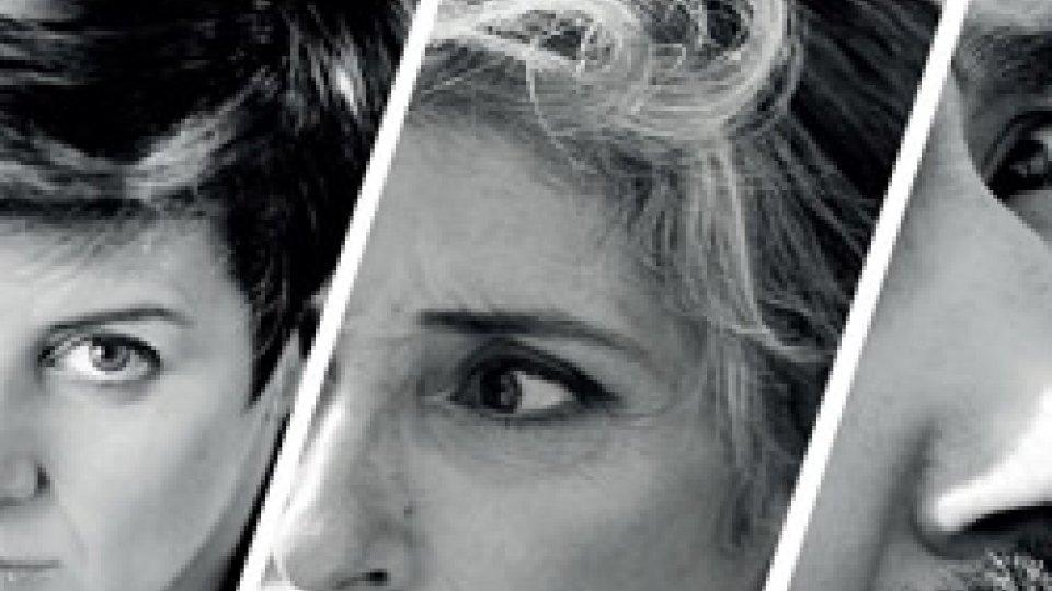 """'Amore non amore': Patrizia Bollini, Mara Di Maio e Francesco Montanari con Emanuela Valmaggi al Tatro Titano per """"In scena aKm0"""""""