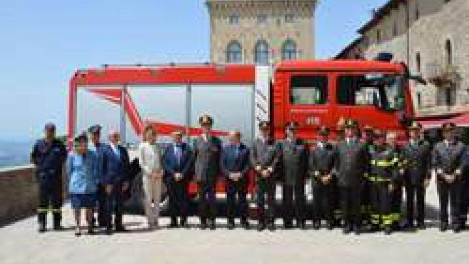 Territorio: udienza con i comandanti dei vigili del fuoco della Regione Emilia-Romagna
