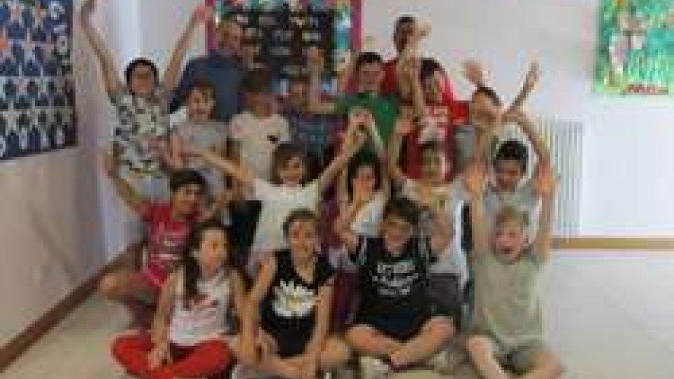 Quarta A della scuola Faro Bianco di Acquaviva
