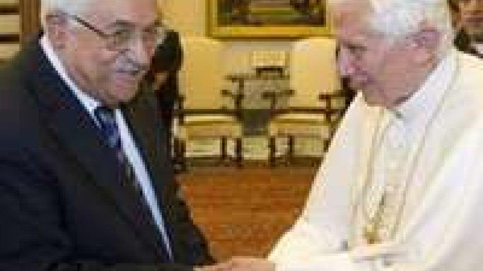 Il Papa ha incontrato Abu Mazen