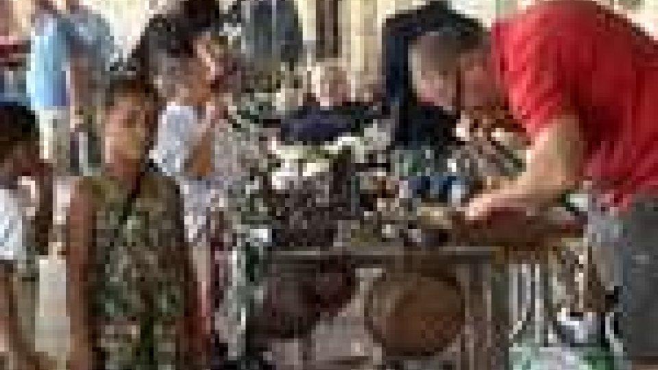 San Marino - Il Mercatale a Borgo Maggiore