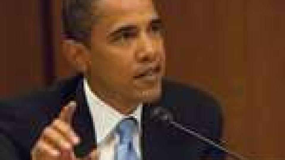 Crisi USA, Obama presenta al Congresso il piano lavoro
