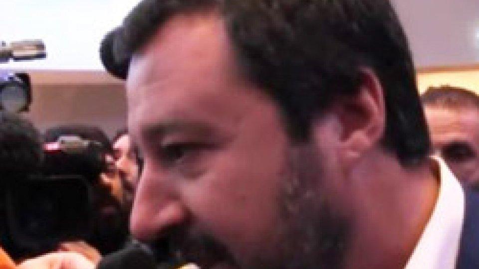 """Matteo SalviniPil fermo in Italia, Salvini: """"Soddisfatto di quanto stiamo facendo"""""""