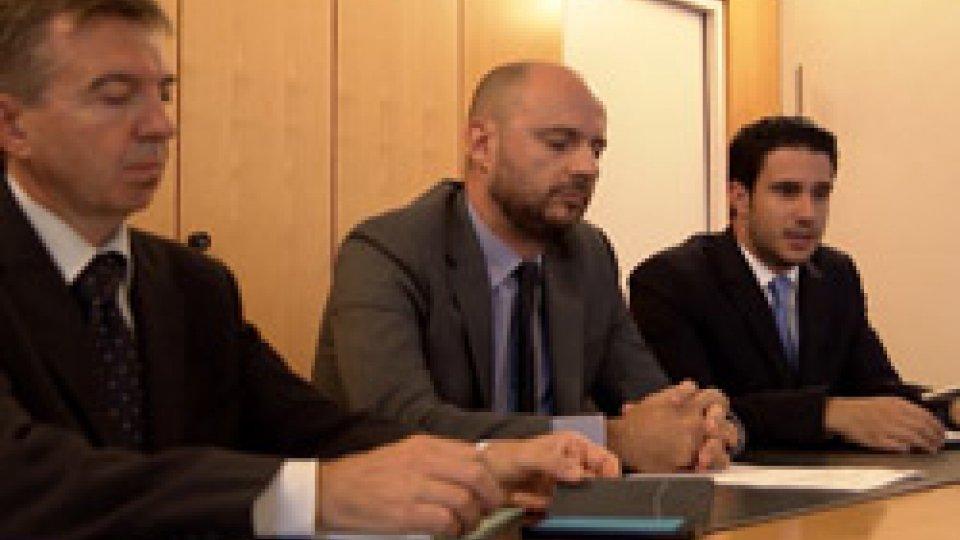 """La conferenza stampaAdesso.sm su odg azioni responsabilità Carisp: """"Opposizioni confuse, siamo sconcertati"""""""