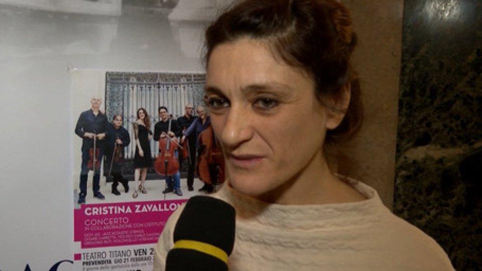Cristina ZavalloniZAVALLONI JAZZ per la prima volta a San Marino