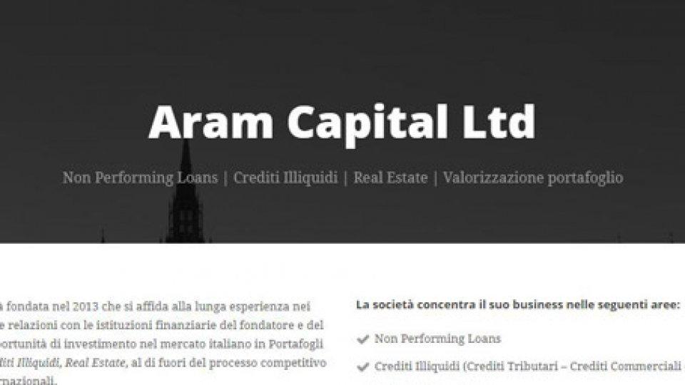 Sito Aram CapitalCarisp: settima perizia passa ad Aram Capital Ltd, slitta intanto di qualche giorno la scadenza per la deliberazione