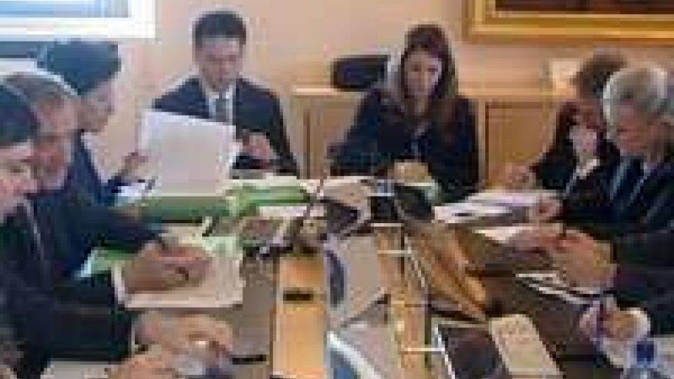 Domani l'ultima seduta del 2012 del Congresso di Stato