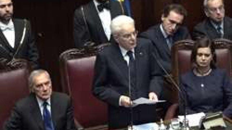 """Il presidente della RepubblicaMattarella sull'Europa: """"Ripiegata su se stessa, servono visioni lungimiranti"""""""