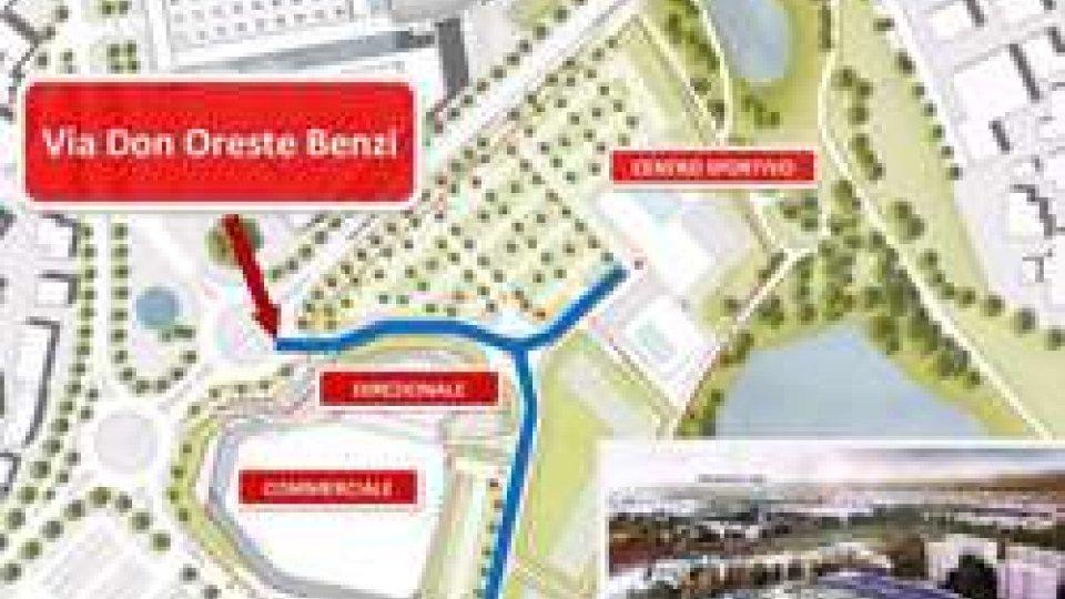 Intitolata a Don Oreste Benzi la nuova via che sta sorgendo negli spazi tra via della Fiera e il parco