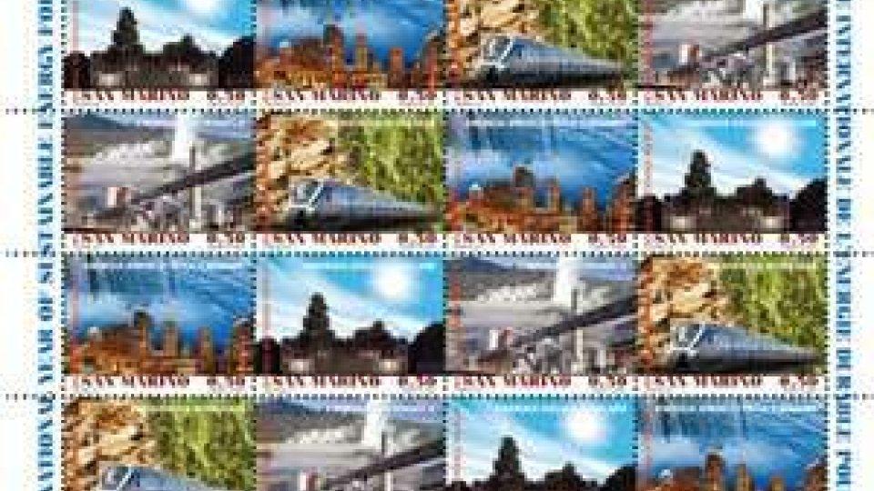 San Marino - 2012 Anno Internazionale dell'energia sostenibile per tutti. Emissione filatelica