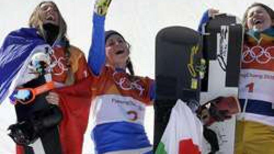 Michela Moioli oro nello snowboardcross