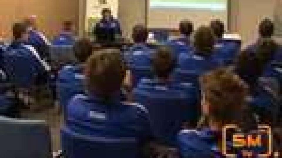 Vigilia di Olanda-San Marino ad Eindhoven. Cresce l'emozione per affrontare i vicecampioni del mondo