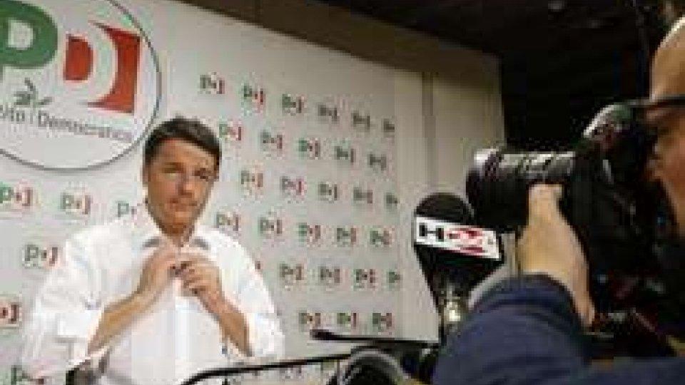 Foto AnsaElezioni in Italia, vincono M5S e Lega. Tonfo Pd, Renzi si dimette