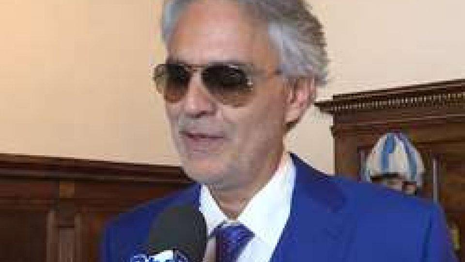 Andrea BocelliSan Marino: Andrea Bocelli ha giurato quale nuovo ambasciatore