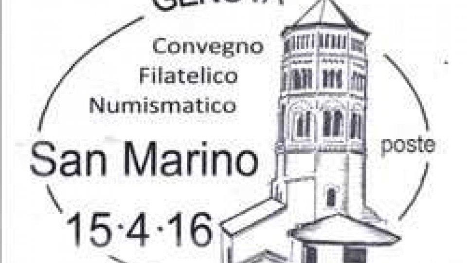 L'ufficio filatelico sammarinese a Genova