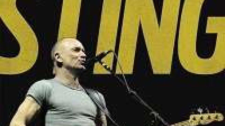 Tre concerti in Italia per Sting