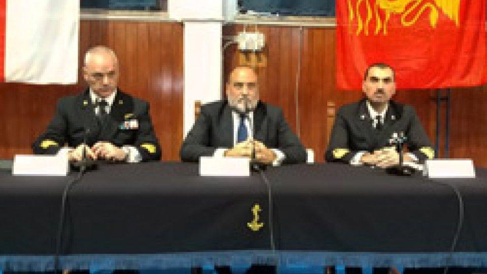 """Riprese dalla presentazione a LivornoLivorno: lo speciale Rtv """"Al traverso di Dover"""" presentato in anteprima all'Accademia navale"""