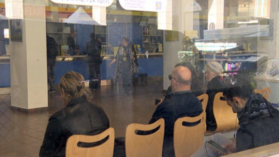 Gli uffici a RiminiReddito di cittadinanza: poche code agli uffici