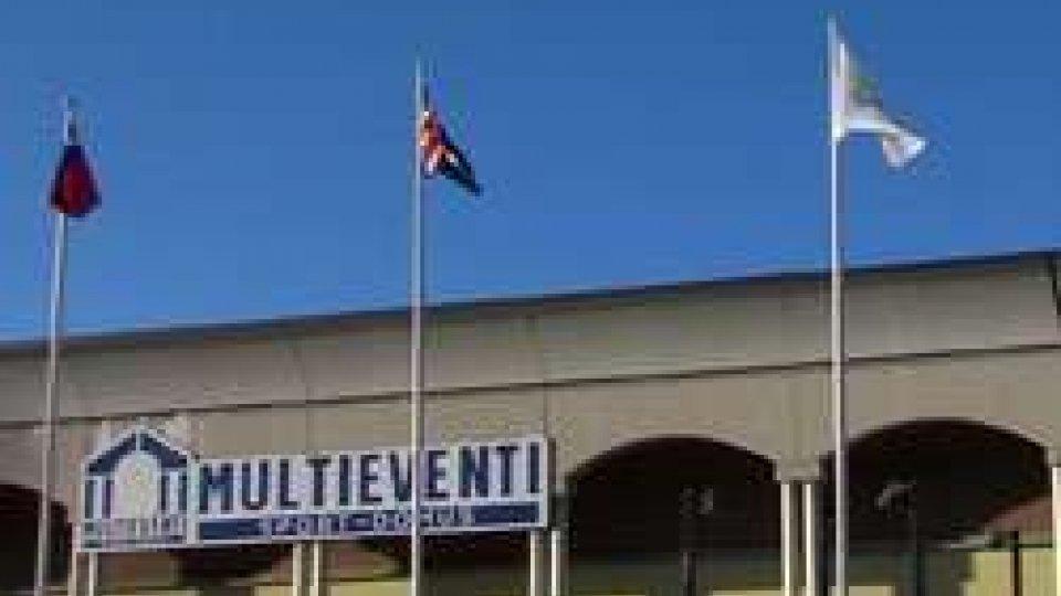 Le bandiere al Multieventi