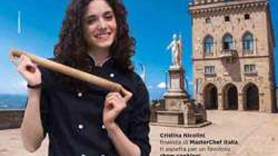 Cristina Nicolini protagonista di un favoloso show cooking nel centro storico di San Marino