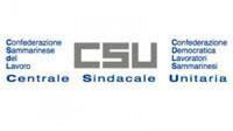Incontri sull'occupazione, la CSU auspica in negoziato e chiede incentivi differenziati