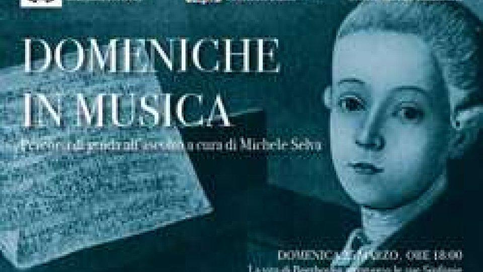 """Istituto Musicale Sammarinese - Primo appuntamento con le """"Domeniche in musica"""""""