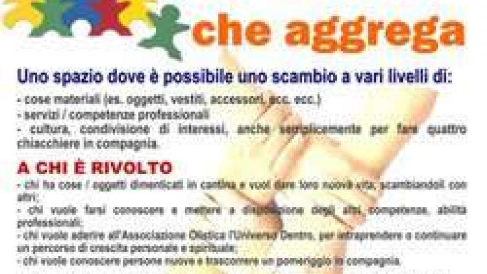 """""""Lo scambio che aggrega"""" dell'Associazione Olistica l'Universo Dentro"""
