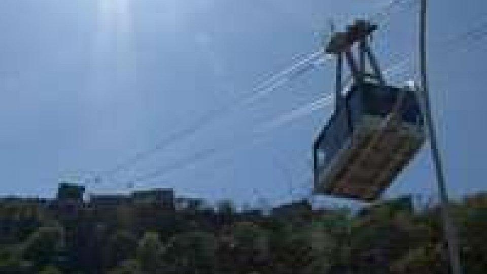 San Marino, ponte dei morti: oltre 5mila passaggi in funivia