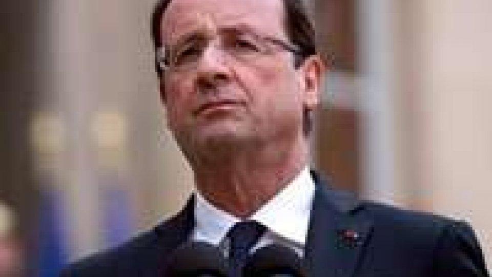 Hollande incontra organizzazioni economiche internazionali