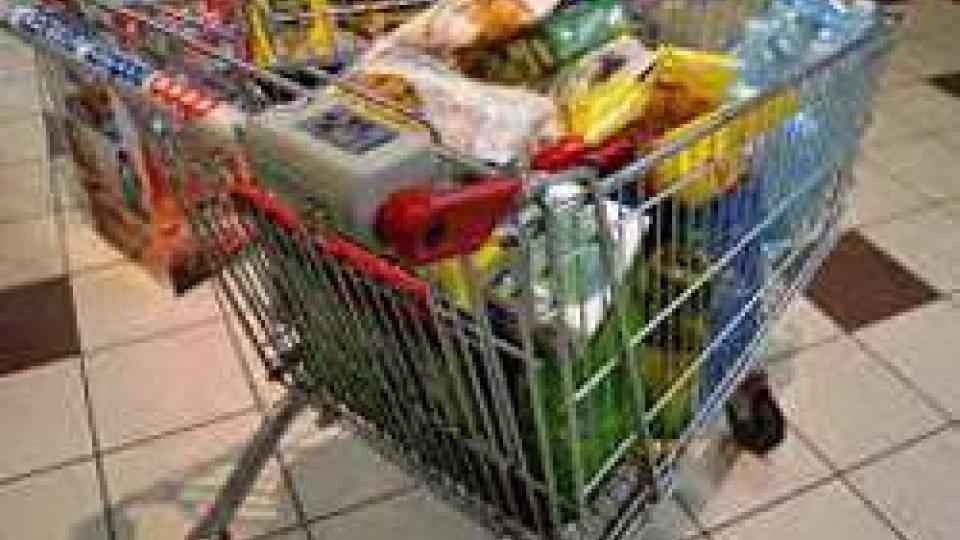 Giù l'inflazione, su il carrello della spesa