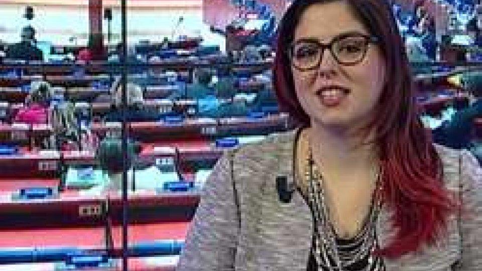 """Vanessa D'Ambrosio (SSD)Consiglio d'Europa: l'emozione della """"prima volta"""" della nuova delegazione sammarinese"""