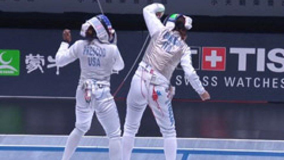 Mondiali di schermaMondiali di scherma: il fioretto donne è argento, fuori ai quarti la spada maschile