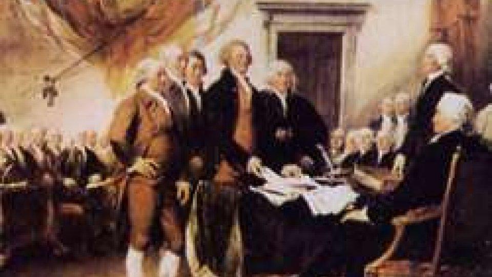 Firmata la Costituzione degli Stati Uniti d'America